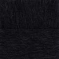 """Пряжа """"Гламурная"""" цв. 002 чёрный 35% мериносовая шерсть 35% об. акрил 30% полиамид 10х50гр / 175м """"Пехорка"""""""