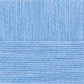 """Пряжа """"Гламурная"""" цв. 005 голубой 35% мериносовая шерсть 35% об. акрил 30% полиамид 10х50гр / 175м """"Пехорка"""""""