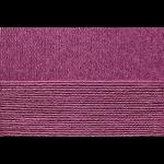 "Пряжа ""Хлопок натуральный"" цв. 191 ежевика 100% хлопок 5х100гр / 425м ""Пехорка"""