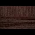 """Пряжа """"Хлопок натуральный"""" цв. 251 коричневый 100% хлопок 5х100гр / 425м """"Пехорка"""""""