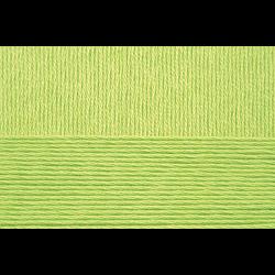 """Пряжа """"Хлопок натуральный"""" цв. 483 незрелый лимон 100% хлопок 5х100гр / 425м """"Пехорка"""""""