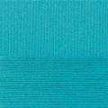 "Пряжа ""Классический хлопок"" цв. 045 т. бирюза 100% хлопок 5х100гр / 250м ""Пехорка"""