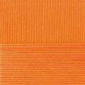 """Пряжа """"Классический хлопок"""" цв. 485 желто-оранжевый 100% хлопок 5х100гр / 250м """"Пехорка"""""""
