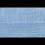 """Пряжа """"Конкурентная"""" цв. 520 голубая пролеска 50% шерсть 50% акрил 10х100гр / 250м """"Пехорка"""""""