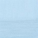 """Пряжа """"Лаконичная"""" цв. 005 голубой 50% хлопок 50% акрил 5х100гр / 212м """"Пехорка"""""""
