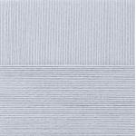 """Пряжа """"Лаконичная"""" цв. 008 св. серый 50% хлопок 50% акрил 5х100гр / 212м """"Пехорка"""""""