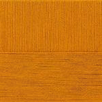 """Пряжа """"Лаконичная"""" цв. 447 горчица 50% хлопок 50% акрил 5х100гр / 212м """"Пехорка"""""""
