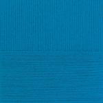 """Пряжа """"Ласковое детство"""" цв. 015 т. голубой 100% мериносовая шерсть 5х50гр / 225м """"Пехорка"""""""