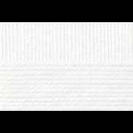 """Пряжа """"Мериносовая"""" цв. 001 белая 50% мериносовая шерсть 50% акрил 10х100гр / 200м """"Пехорка"""""""