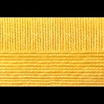 """Пряжа """"Мериносовая"""" цв. 012 желток 50% мериносовая шерсть 50% акрил 10х100гр / 200м """"Пехорка"""""""