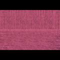 """Пряжа """"Мериносовая"""" цв. 021 брусника 50% мериносовая шерсть 50% акрил 10х100гр / 200м """"Пехорка"""""""