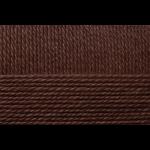 """Пряжа """"Мериносовая"""" цв. 251 коричневый 50% мериносовая шерсть 50% акрил 10х100гр / 200м """"Пехорка"""""""