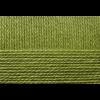 """Пряжа """"Мериносовая"""" цв. 252 зелёный горошек 50% мериносовая шерсть 50% акрил 10х100гр / 200м """"Пехорка"""""""