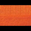 """Пряжа """"Мериносовая"""" цв. 284 оранжевая 50% мериносовая шерсть 50% акрил 10х100гр / 200м """"Пехорка"""""""