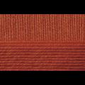 """Пряжа """"Мериносовая"""" цв. 344 красная глина 50% мериносовая шерсть 50% акрил 10х100гр / 200м """"Пехорка"""""""