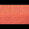 """Пряжа """"Мериносовая"""" цв. 396 настурция 50% мериносовая шерсть 50% акрил 10х100гр / 200м """"Пехорка"""""""