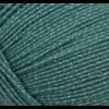 """Пряжа """"Мерцающая"""" цв. 752 дымчато-бирюзовый 96% об. акрил 4% метанит 5х100гр / 430м """"Пехорка"""""""