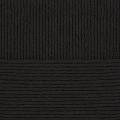 """Пряжа """"Молодёжная"""" цв. 002 чёрный 91% об. акрил 9% полиамид 5х200гр / 280м """"Пехорка"""""""