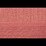 """Пряжа """"Народная"""" цв. 599 увядшая роза 30% шерсть 70% об. акрил 5х100гр / 220м """"Пехорка"""""""