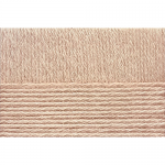 "Пряжа ""Перуанская альпака"" цв. 431 бежевый меланж 50% альпака 50% мерин. шерсть 10х50гр / 150м ""Пехорка"""