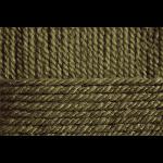 """Пряжа """"Популярная"""" цв. 013 т. оливковый 50% шерсть 45% акрил 5% об. акрил 10х100гр / 133м """"Пехорка"""""""