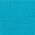 """Пряжа """"Популярная"""" цв. 045 т. бирюза 50% шерсть 45% акрил 5% об. акрил 10х100гр / 133м """"Пехорка"""""""