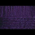 """Пряжа """"Популярная"""" цв. 698 т. фиолетовый 50% шерсть 45% акрил 5% об. акрил 10х100гр / 133м """"Пехорка"""""""