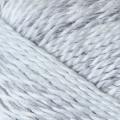 """Пряжа """"Радужный стиль"""" цв. 748 мулине серый/белый 25% шерсть 75% ПАН 5х100гр / 200м """"Пехорка"""""""