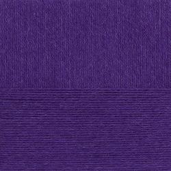 """Пряжа """"Школьная"""" цв. 078 фиолетовый 100% акрил 5х50гр / 150м """"Пехорка"""""""