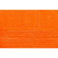 """Пряжа """"Школьная"""" цв. 284 оранжевый 100% акрил 5х50гр / 150м """"Пехорка"""""""