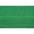 "Пряжа ""Школьная"" цв. 480 яр. зелень 100% акрил 5х50гр / 150м ""Пехорка"""