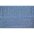 """Пряжа """"Школьная"""" цв. 520 голубая пролеска 100% акрил 5х50гр / 150м """"Пехорка"""""""