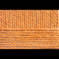 """Пряжа """"Смесовая"""" цв. 284 оранжевый 30% шерсть 70% высокообъёмный акрил 5х200гр / 200м """"Пехорка"""""""