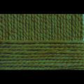 """Пряжа """"Смесовая"""" цв. 434 зелёный 30% шерсть 70% высокообъёмный акрил 5х200гр / 200м """"Пехорка"""""""