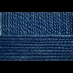 """Пряжа """"Смесовая"""" цв. 893 т. джинса 30% шерсть 70% высокообъёмный акрил 5х200гр / 200м """"Пехорка"""""""
