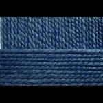 """Пряжа """"Смесовая"""" цв. 256 св. джинса 30% шерсть 70% высокообъёмный акрил 5х200гр / 200м """"Пехорка"""""""