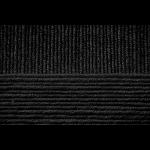 """Пряжа """"Удачная"""" цв. 002 черный 50% шерсть 50% акрил 5х100гр / 250м """"Пехорка"""""""