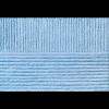 """Пряжа """"Удачная"""" цв. 005 голубой 50% шерсть 50% акрил 5х100гр / 250м """"Пехорка"""""""