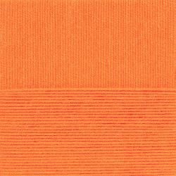 """Пряжа """"Удачный выбор"""" цв. 284 оранжевый 100% акрил 5х100гр / 200м """"Пехорка"""""""