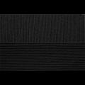 """Пряжа """"Успешная"""" цв. 002 чёрный 100% мерсеризованный хлопок 10х50гр / 220м """"Пехорка"""""""