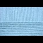 """Пряжа """"Успешная"""" цв. 005 голубой 100% мерсеризованный хлопок 10х50гр / 220м """"Пехорка"""""""