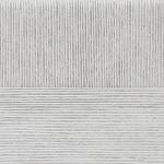 """Пряжа """"Успешная"""" цв. 008 св. серый 100% мерсеризованный хлопок 10х50гр / 220м """"Пехорка"""""""