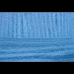 """Пряжа """"Успешная"""" цв. 015 т. голубой 100% мерсеризованный хлопок 10х50гр / 220м """"Пехорка"""""""