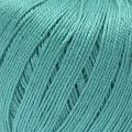 """Пряжа """"Успешная"""" цв. 511 зелёнка 100% мерсеризованный хлопок 10х50гр / 220м """"Пехорка"""""""