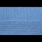 "Пряжа ""Уютная"" цв. 005 голубой 85% акрил 15% полиамид 5х100гр / 230м ""Пехорка"""