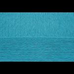 """Пряжа """"Весенняя"""" цв. 045 т. бирюза 100% мерсеризованный хлопок 5х100гр / 250м """"Пехорка"""""""