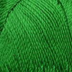 "Пряжа ""Винтажная"" цв. 434 зелёный 100% хлопок 5х100гр / 240м ""Пехорка"""