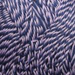 """Пряжа """"Винтажная"""" цв. 861 мулине сиренево-т. синий 100% хлопок 5х100гр / 240м """"Пехорка"""""""