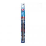 """Крючок алюминиевый с пластиковой ручкой № 2.5 14см  """"Prym"""" (Германия)"""