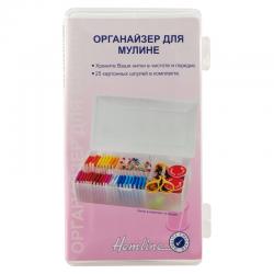 """Органайзер для мулине малый + 25 бобин """"Hemline"""""""